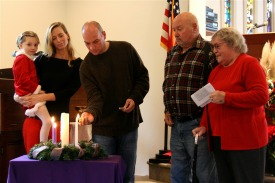 Advent Wreath - Funke Family